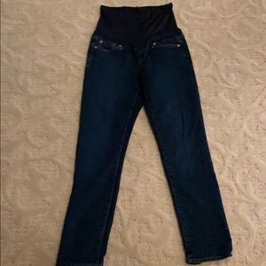 Gap straight leg maternity jeans
